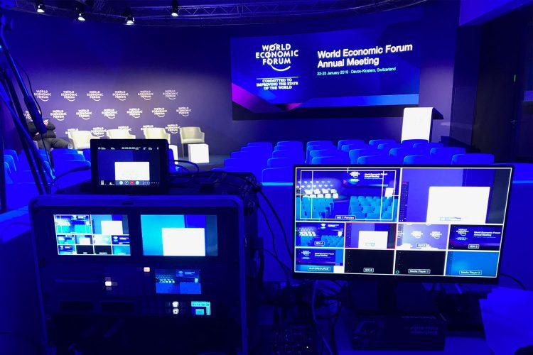 Canalchat au Forum de Davos organisé par le World Economic Forum