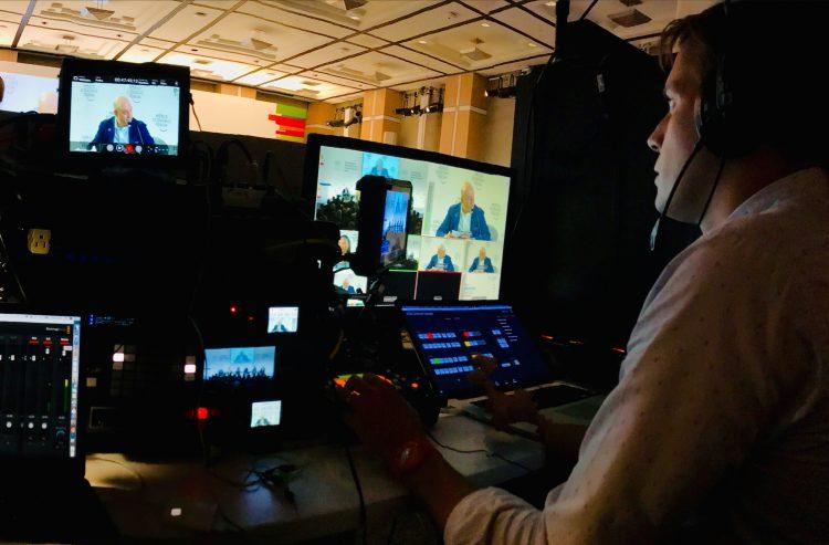 Le World Economic Forum accélère sur la diffusion en direct